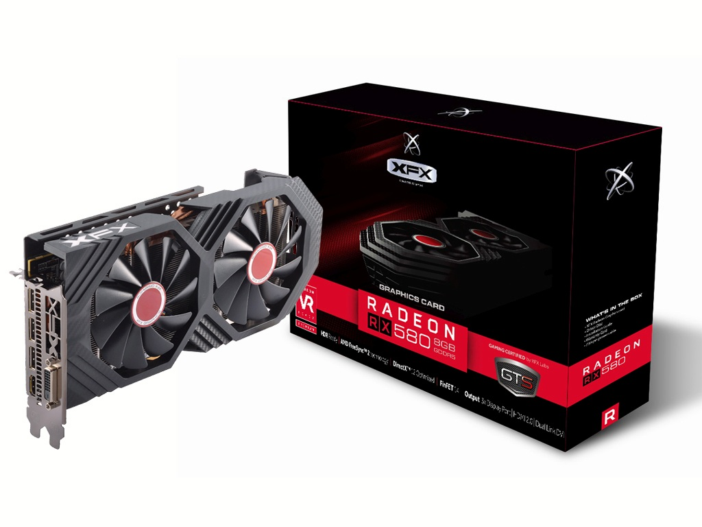 XFX RX 580 8GB DDR5 GTS XXX Edition RX-580P8DFD6
