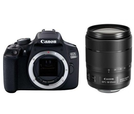 Canon EOS 1300D + EF-S 18-135mm f/3.5-5.6 IS Kit 1160C093AA