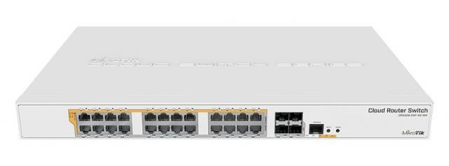 Mikrotik RouterBoard CRS328-24P-4S+RM 24port GbE LAN PoE 4xSFP+ port Rackmount Cloud Router Switch