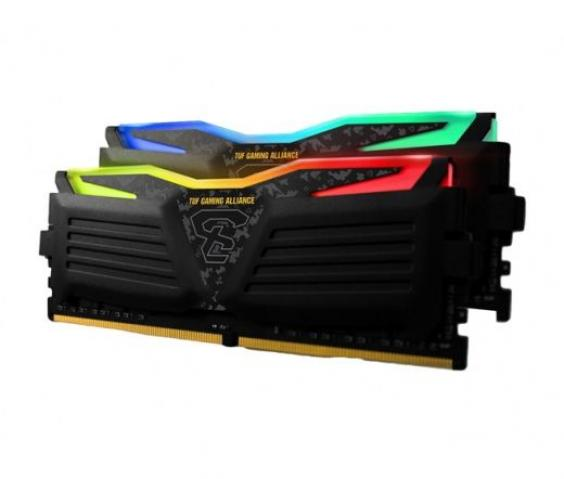 Geil 8GB DDR4 2400MHz Super Luce RGB Sync TUF AMD Edition Kit(2x4GB)