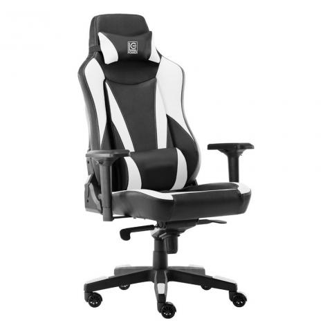 LC Power LC-GC-701BW Gaming Chair Black/White