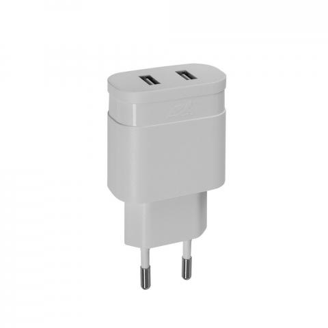RivaCase Rivapower PS4123 W00 wall charger 3,4A/2xUSB White