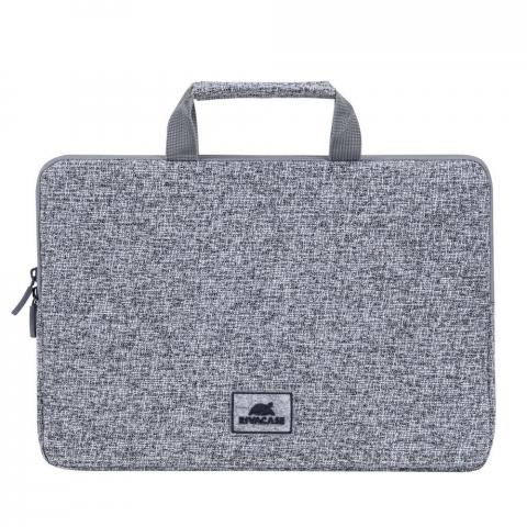 "RivaCase 7913 Laptop sleeve with handles 13,3"" Light grey"