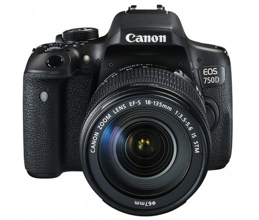 Canon EOS 750D + EF-S 18-135mm f/3.5-5.6 IS STM Kit 0592C032AA