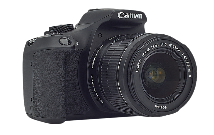 Canon EOS 1300D + EF-S 18-55mm Kit Black 1160C030AA
