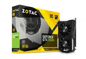 Zotac GeForce GTX1050 Ti 4GB DDR5 OC Edition