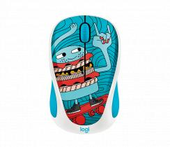 Logitech M238 Wireless Mouse Doodle Collection/Skateburger
