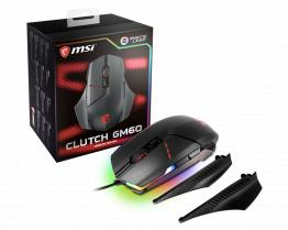 Msi Clutch GM60 Gaming Mouse Black