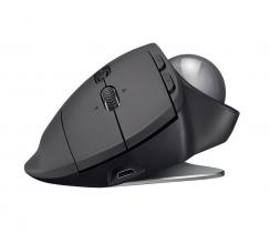 Logitech MX Ergo Wireless Trackball Mouse Black