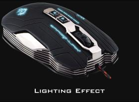 Dragon War Gaia ELE-G15 Gaming mouse Black