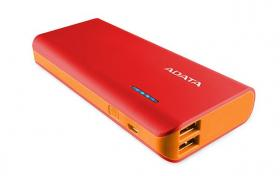 A-Data PT100 10000mAh Power Bank Red/Orange