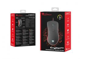 Natec Genesis Krypton 500 Gamer mouse Black/Red