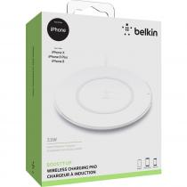 Belkin Universal Qi Wireless Charging pad iPhone 8/X White