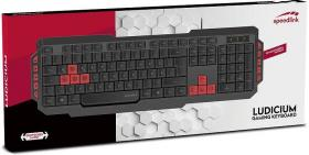 Speedlink Ludicium gaming keyboard Black