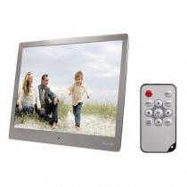 "Hama 97SLB"" Digital Photo Frame 9,7"" Slim Steel Silver"