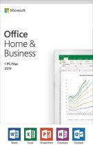 Microsoft Office 2019 Home and Business English EuroZone Medialess