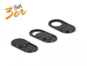 DeLock Webcam Cover for Laptop, Tablet and Smartphone 3 pack