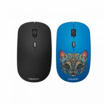 Canyon CND-CMSW400CT Wireless Mouse With Removable Cover Party Cat