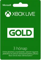 Microsoft Xbox Live Gold 3 Month Membership ESD
