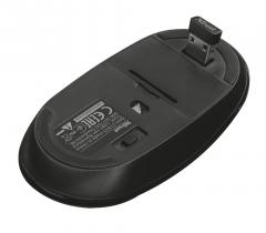 Trust Mute Silent Click Wireless Mouse Black