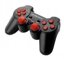 Esperanza Corsair USB Gamepad Black/Red