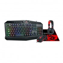 Redragon S101-BA Gaming Combo 4 in 1 Black/Red HU