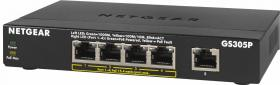 Netgear GS305P 5 Port Gigabit Smart Switch