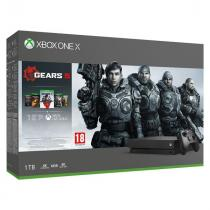 Microsoft Xbox One X 1TB + Gears of War 5