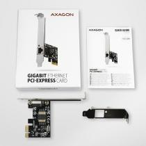 AXAGON PCEE-GRH Gigabit Ethernet PCI-Express Card