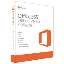 Microsoft Office 365 Home Premium P4 6 USER 1 YEAR HUN Box
