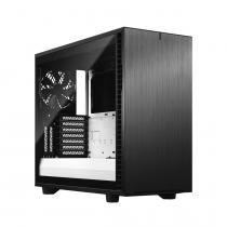 Fractal Design Define 7 Clear Tempered Glass Black/White