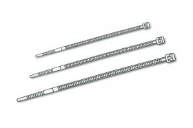 Assmann Cable tie, inner teethed