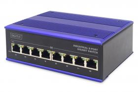 Digitus Industrial 8-Port Gigabit Switch