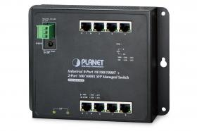 Planet PLANET Industrial Layer 2  8-Port 10/100/1000T PoE