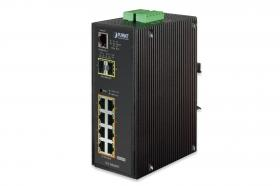 Planet PLANET managed Industrial Gigabit PoE+ Switch