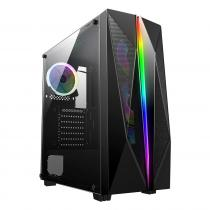 Rampage Shake RGB Tempered Glass 600W Black