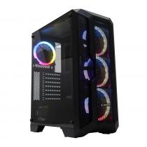 Rampage Reaction Tempered Glass 600W Black