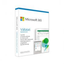 Microsoft Office 365 Business Standard P6 1 USER 1év HUN Box