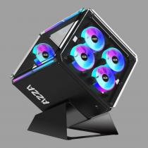 AZZA Cube 802 Tempered Glas Black