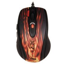 A4-Tech XL-750BK Gaming mouse USB Black/Red Mask