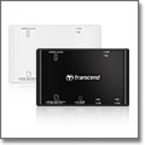 Transcend P8 USB Card Reader5 (All in 1 SDHC támogatás, USB2.0) Black