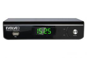 Evolveo Omega II Set-top box Wi-Fi HD DVB-T2 H.265/HEVC Recorder