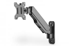 Digitus Universal Single Monitor Mount with Gas Spring, Wall Mount