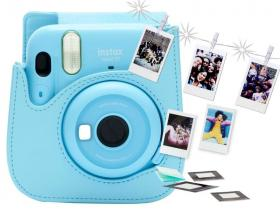 Fujifilm Instax Mini11 Sky Blue Bundle Kit