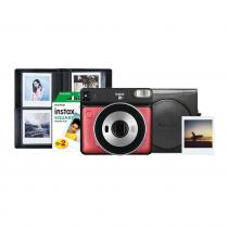 Fujifilm Instax Square SQ6 Ruby Red Bundle Kit