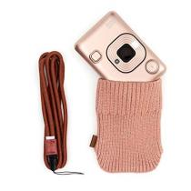 Fujifilm Instax Mini LiPlay Blush Gold Bundle Kit