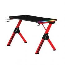 Gamdias Daedalus M2 RGB Gaming Desk Black/Red