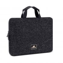 "RivaCase 7913 Laptop sleeve with handles 13,3"" Black"