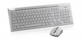 Rapoo 8200P Wireless Keyboard & Mouse Combo White