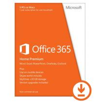 Microsoft Office 365 Home Premium 32/64bit 1év Subscription